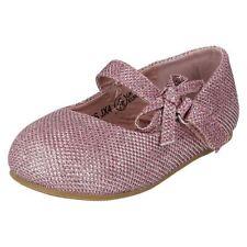 Chaussures roses en synthétique pour fille de 2 à 16 ans, pointure 28