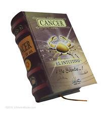 Acuario signo del zodiaco libro miniatura pasta dura facil lectura bolsillo