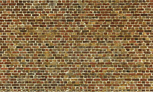 8 SHEETS EMBOSSED BRICK paper stone wall 20x28cm SCALE 1/12  sheets B35