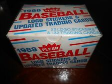 1988 Fleer update set Factory sealed (132) cards plus stickers