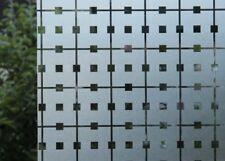 41,67€//1qm Statische Fensterfolie JOY static Dekorfolie Manhatten Karo viele G