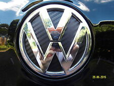 VW Golf 5 6 7 V VI VII GTI R20 Polo 6R  Aufkleber Heck Emblem 3D Carbon FolieTOP