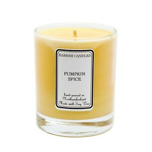 Pumpkin Spice - Personalised Soy Wax Candle - 20cl