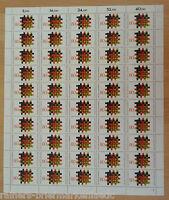 Bund BRD 1194 kompletter Bogen Demokratie sauber postfrisch Full sheet MNH FN 1