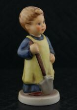 "Goebel M.I. Hummel ""Garden Treasures"" #727 Tmk7 Porcelain Figurine"