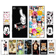 Soft TPU Silicone Case For Sony Xperia XZ1 Compact Phone Back Cover Skin Cartoon