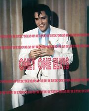 """ELVIS PRESLEY in the Movies 1969 8x10 Photo """"TROUBLE WITH GIRLS"""" in WHITE SUIT"""