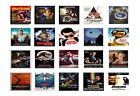 Classic Iconic 80's And 90's Movie Posters Wall Art Framed Canvas Pictures