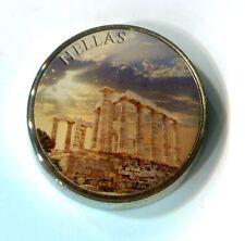 Farb Medaille 2 Specimen Griechenland Hellas M_931