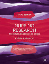Nursing Research: Principles, Process and Issues by Kader Parahoo (Paperback,...