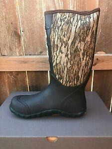 """Lacrosse Mens Size 12 Boot 16"""" Alpha Lite MOSSY Oak Bottomland NEOPRENE 200071"""