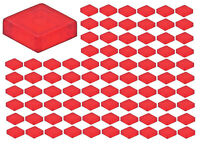 ☀️Lego Trans-Red 1x1 Smooth Tile Plate x100 Part Piece Bulk lot Legos #3024