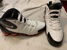 official photos 18b23 a0e53 Nike Shox VC III 3 White Vince Carter Model   307111 102 Men s Size 11