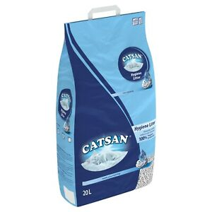 Catsan 20L Cat Litter Lightweight Extra Absorbent Low Dust Odour Protection