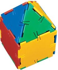 POLYDRON Play Cube fantastic 26 piece set. The educational Maths Geometry Toy