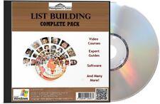 List Building Complete Pack DVD - Videos, Expert Guides & Many More!