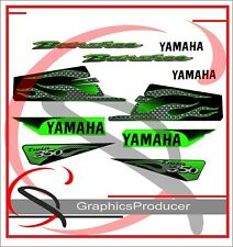 Yamaha Banshee Decals 2003 Limited Edition Full Set Green  Fenders Graphics
