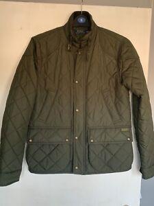 Ladies Polo Ralph Lauren Padded Jacket Green Size M