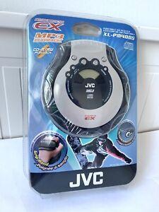 XL-PM400S JVC Portable CD Player HYPER-BASS Sound Anti Shock EX CD MP3 Silver