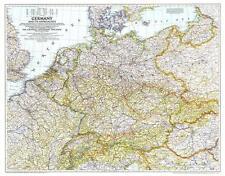 Europe Um 1938 - Allemagne Et Seine Voisins 85 x 66cm Format Paysage #XNG194407