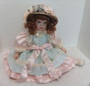 Seymour Doll Lidia Award Winning Doll Collection Hat, Sitting, COA 2005