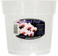 Clear Orchid Pot 15cm