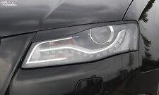 RDX Scheinwerferblenden AUDI A4 B8 8K 2008-2011 Böser Blick Blenden Spoiler