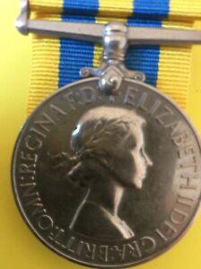 QE 11R Korea Medal P / SSX 870821 J.T. Chilman AB. R.N.
