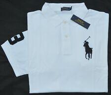 33ffcc298 3xlt 3xl Tall Polo Ralph Lauren Mens Big Pony Rugby Shirt Black Top 3xt