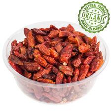 Bio Gewürze Trocken Chile Paprika Kosher Getrocknet Rot Chilies Pure Israel