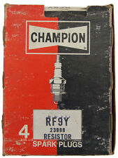 Champion Resistor Spark Plugs Box Of 4 New Old Stock RF9Y-23998