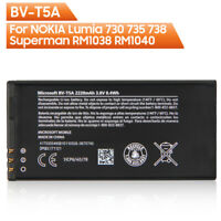 Original Phone Battery BV-T5A For Nokia Lumia 730 735 738 RM1038 RM1040 2220mAh
