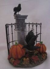 Primitive//Country Fall Halloween Resin Wire Leg Crows Free Ship