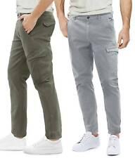 Pantaloni Multi Tasche Uomo Slim Tasconi Laterali Chino Casual GIROGAMA 8225IT