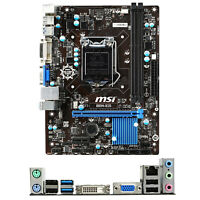MSI B85M-IE35 for Intel Socket LGA 1150 MicroATX PC Motherboard DDR3 Mainboard