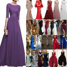 Summer Womens Formal Evening Party Bridesmaid Long Maxi Dress Prom Gown Wedding