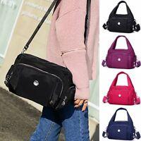 Women Anti-theft Waterproof Nylon Casual Handbag Travel Shoulder Bag Girl Purse