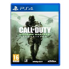 Call of Duty Cod Modern Warfare Remastered PlayStation 4 Game