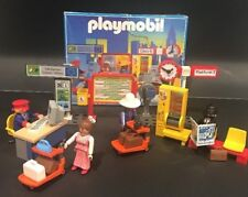 Playmobil 4303 Vintage City Train Station Ticket Booth 1999 99% Complete Inst