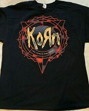 new KORN rock NU Metal band Paradigm Shift mens t-shirt black size S to 4XLT