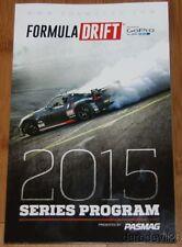 2015 Formula Drift Series Program