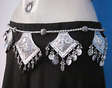 Vintage Retro Womens Coin BELT Tribal Boho Belly dance Fashion Costume Jewelry