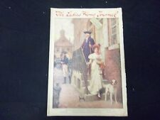 1917 AUGUST LADIES' HOME JOURNAL MAGAZINE - GREAT ILLUSTRATIONS & ADS - ST 1769