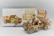 VINTAGE TRUCK - WOODTRICK 3D Mechanical Wooden Model