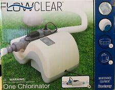 Flowclear 58215E Saltwater System 25000 Gallon Chlorinator