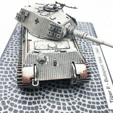 1/72 Tiger Ⅱ Budapest 1944-1945 SD.KFZ182 Tank Model Die Cast Gift Road Sigh