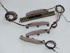 4x Fleischmann piccolo: 9114 elektr. Entkuppler, 9422, 9421 elektr. Antrieb N