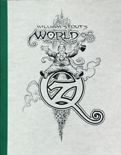 WILLIAM STOUT: World of Oz ART BOOK Muppets WIZARD OF OZ Ltd #d/250 Rare SIGNED!