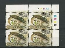 MALAYSIA 1996 1R CRESTED HAWK EAGLE. Perf 13½, Corner Cylinder Block of 4. UM