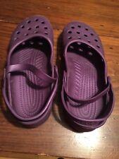 Ladies' Purple Crocs Size 8
